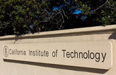 Caltech Entrance Sign — Stock Photo