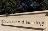 Caltech Entrance Sign — Stock Photo