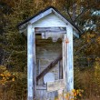 Dilapidated Outhouse — Photo