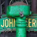 Antique John Deere Tractor — Stock Photo #34284897
