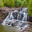 Upper Falls of Gooseberry Falls — Stock Photo