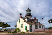 Point Pinos Lighthouse of Monterey Bay — Stock Photo