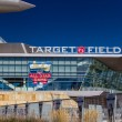 Target Field — Stock Photo