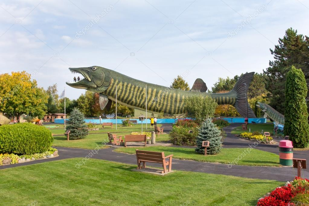 The national freshwater fishing hall of fame stock for Freshwater fishing hall of fame