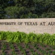 Entrance Sign to the  campus of the University of Texas — Stock Photo