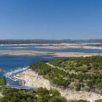 Lake Travis Panorama — Stock Photo