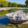 Historic Round Rock at Brushy Creek — Stock Photo