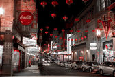 Chinatown San Francisco after Hours — Stock Photo