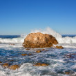 Stock Photo: Waves Coming Ashore