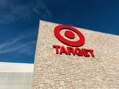 Exterior view of a Target retail store — Stock Photo
