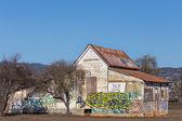 Abandoned American Farmhouse — Stock Photo