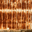Backdrop or Background Rusty Corrugated Metal Wall — Stock Photo