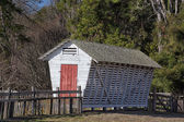 Vintage Corn Crib — Stock Photo