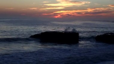 Santa Cruz Sunset — Stock Video