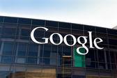 Google Corporate Headquarters and Logo — Stock Photo
