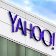 Stock Photo: Yahoo Corporate Headquarters Sign