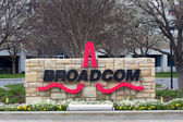 Broadcom Facility in Silicon Valley — Foto de Stock