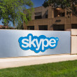 Постер, плакат: Skype Corporate Building in Silicon Valley