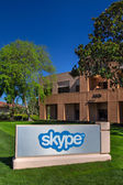 Skype Corporate Building in Silicon Valley — Stock Photo