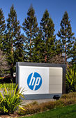 Hewlett-Packard corporate headquarters in Silicon Valley — Stockfoto