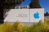 Silikon vadisinde elma merkezi. — Stok fotoğraf