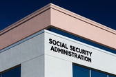 United States Social Security Office — Stock Photo