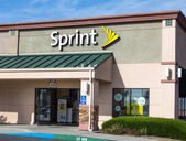Sprint store exterior — Stock Photo