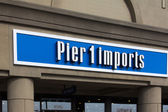 Pier 1 Imports exterior sign — Stock Photo