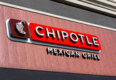 Chipolte Mexican Grill Sign — Stock Photo
