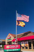 Carl's Jr. Restaurant exterior — Stock Photo