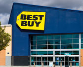 Best Buy store front — Stock Photo