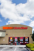 Uto Zone car parts store — Foto de Stock