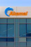 Akamai building in Silicon Valley — Stok fotoğraf
