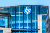 Hewlett-Packard corporate headquarters in Silicon Valley — Stock Photo