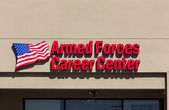 Armed Forces Career Center — Stock Photo