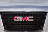 GMC Logo and Grille. — Stock Photo