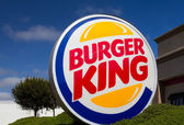 Burger King Restaurant Exterior — Stock Photo