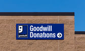 Goodwill Store Exterior Sign — Stock Photo