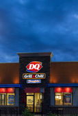 Dairy Queen Restaurant Exterior — Stock Photo