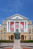 Bascom Hall on the campus of the University of Wisconsin-Madison — Stock Photo