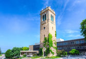 Carillon Tower on the campus of the University of Wisconsin-Madi — Stock Photo
