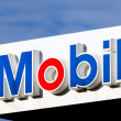 Mobil Oil Gas Station Sign — Stock Photo #49778497