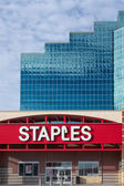 Staples Office Supply Store — 图库照片