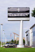 Lincoln Automobile Dealership — Stock Photo