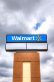 Walmart Store Sign — Stock Photo