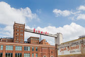 Restored Schmidt Brewery — Stockfoto