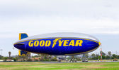 The Goodyear Blimp — Stock Photo