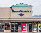 Bank of America Exterior — Foto Stock