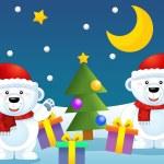 The design of christmas situation — Stock Photo