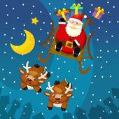 Utformningen av jul situationen — Stockfoto